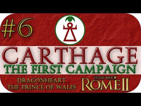 (#6) Total War: Rome II | Carthage Campaign | Hannibal R.I.P.