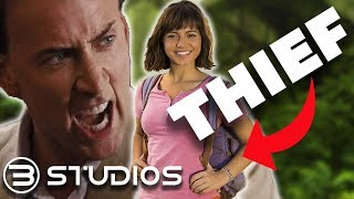Dora and the Lost City of Gold STOLE its PLOT from NICHOLAS CAGE!? #Dora | B Studios