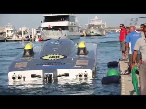 Team Abu Dhabi MTI Catamaran at Grand Prix of Abu Dhabi UIM Class 1 World Championships