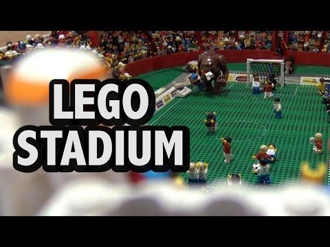 LEGO French Football Stadium with 2,500 Minifigures
