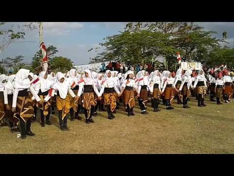 Aubade HUT RI ke 72 Kecamatan Girimarto Sungguh Memukau dengan lagu daerah non stop