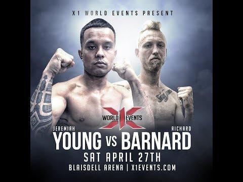 4 Richard Barnard vs Jeremiah Young: Hawaii MMA
