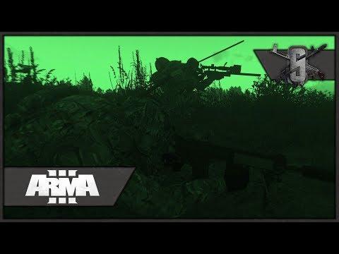L118 Artic Warfare, Suppressed Sniper - ArmA 3 - Special Boat Service Gameplay