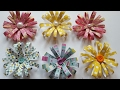 EASY DIY PAPER FLOWERS | PAPER CRAFTING | EMBELLISHMENTS