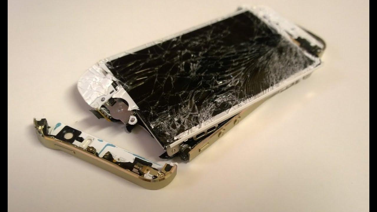 Damaged Iphone S