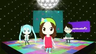 Awesome song and video by Sweet Vacation featuring Hatsune Miku. So...