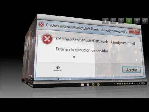 Tutorial: Solución Al Error Del Reproductor Windows Media || ERROR EN LA EJECUCIÓN DEL SERVIDOR