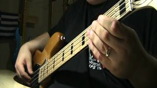 U2 I Still Haven't Found What I'm Looking For Bass Cover