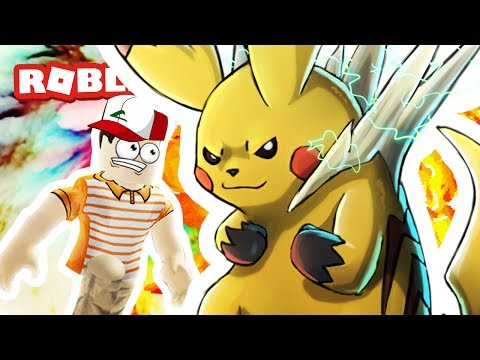 Mega Pikachu is Crazy in Roblox!