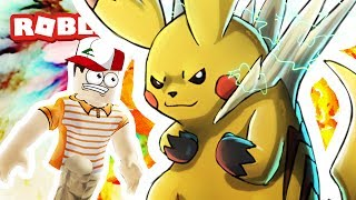 Mega Pikachu is Crazy in Roblox!