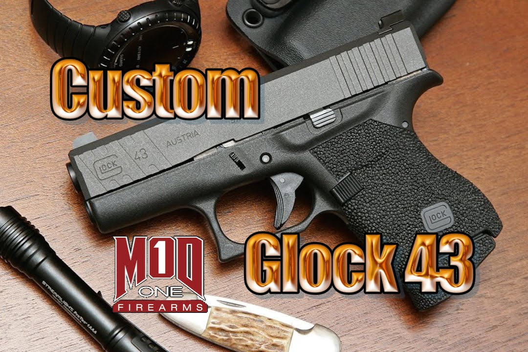 MOD 1 Firearms Custom built Glock 43
