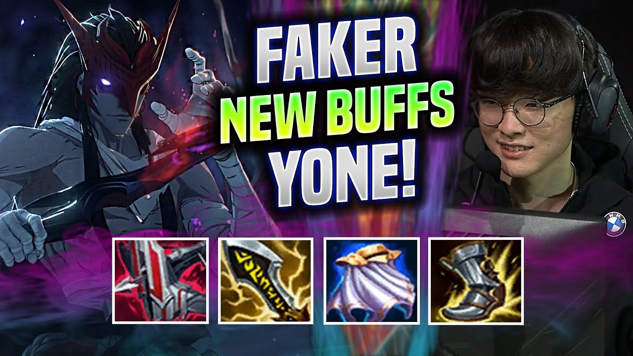 FAKER CRAZY GAME WITH YONE AFTER NEW BUFFS! - T1 Faker Plays Yone Mid vs Ryze! | Be Challenger