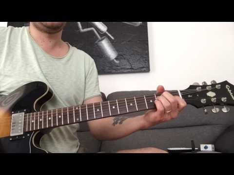 Fly away from here - Aerosmith - how to play on guitar - tutorial - guitar lesson