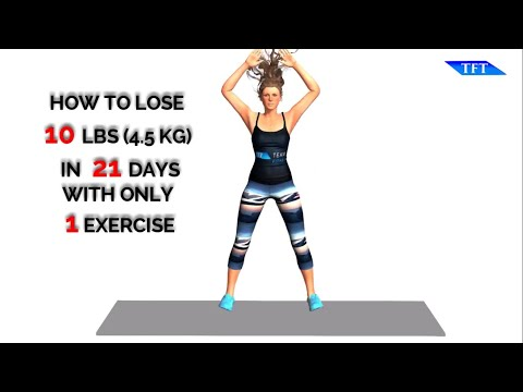 Lose 10 Pounds In 21 Days With Only 1 Exercise - Team Fitness Training