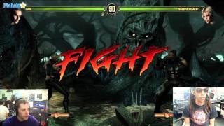 Mortal Kombat Live Jax Vs Sonya