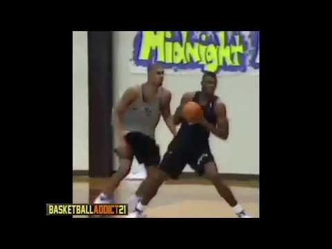 Watch: Tim Duncan and David Robinson battle in Practice