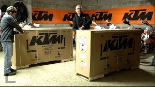 Video Unboxing and Setting 2016 KTM EXC 2T download MP3, 3GP, MP4, WEBM, AVI, FLV November 2018