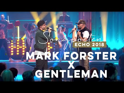 Mark Forster feat. Gentleman - Like A Lion - Live beim ECHO 2018