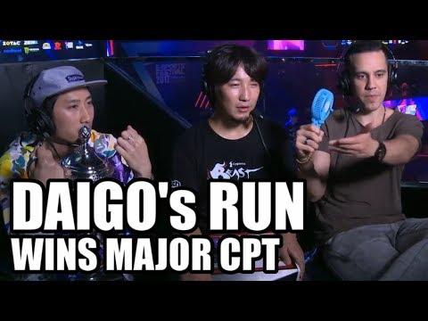 SFV ➡️ DAIGO's RUN ➡️ Wins Major [ESports Festival HK] CPT2017