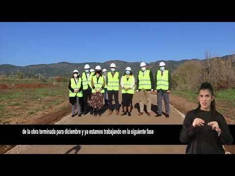 Las obras de la primera fase del cinturón verde estarán lista en diciembre