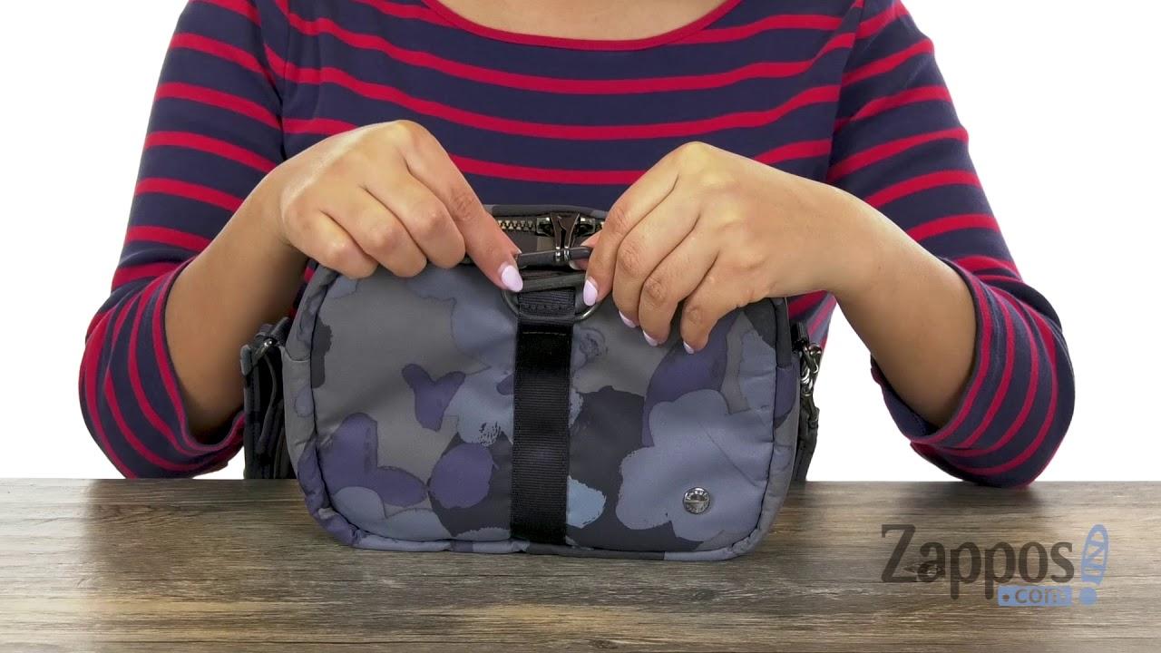 c05e62cd0d50 Pacsafe Citysafe CX Anti-Theft Square Crossbody Bag | Zappos.com