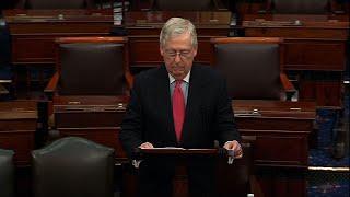 Senate leaders voice support for virus rescue bill