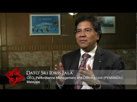 Executive Focus: Idris Jala, CEO, Performance Management and Delivery Unit (PEMANDU), Malaysia (1/2)