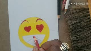 How to draw an (they liked my picture) emoji!!