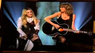 Ghost Town - Madonna & Taylor Swift (iHeart Radio Awards 2015)