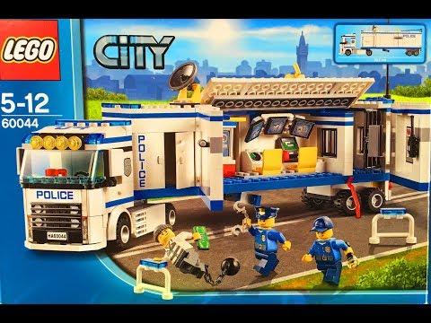 Лего полицейский грузовик мультфильм