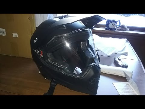 Atv Helmet unboxing
