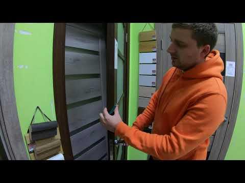 Межкомнатные двери Korfad VC-02 орех