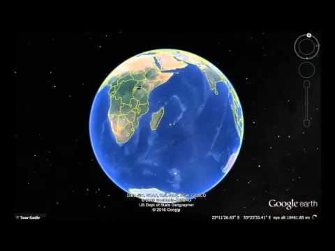 South Africa Google Earth View