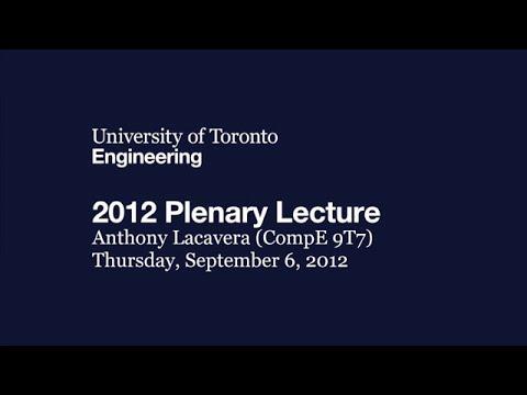 2012 Plenary Lecture