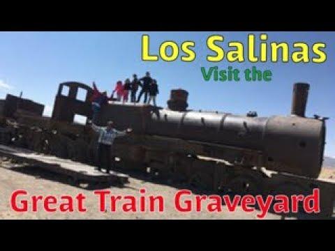 Los Salinas visit the Great Train Graveyard - An Uyuni Expedition - PART 5