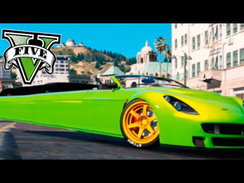 EL CARRO MAS GRANDE DEL MUNDO !! GTA V MODS PC Makiman