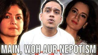 Kangana Ranaut Vs Pooja Bhatt And Nepotism | Instagram Bana Tik Tok!
