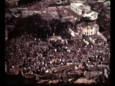 Hong Kong squatter village fire 1953 旧香港