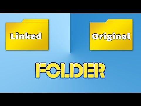 How To Link Folder To Another Position With Symbolic Link (Symlink) - 2 Methods !!!