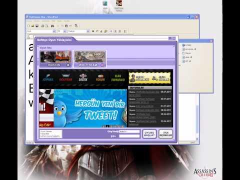Wolfteam Envanter+Wall Hack Bir arada çalıştırılması izle