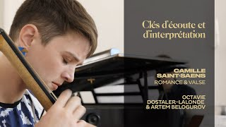 Trailer Saint Saens Romance & Valse Langoureuse - Octavie Dostaler-Lalonde, Artem Belogurov