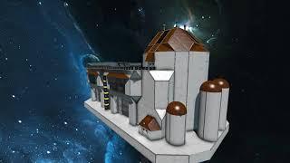 Space Engineers [21] - building Fire Departmen