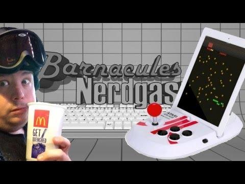 Drunk unboxing ATARI Arcade DUO iPad Joystick Dock - Atari Arcade Classics