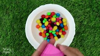 Mixing Candy in Pool with Bath Song Nursery Rhyme Sing-Along