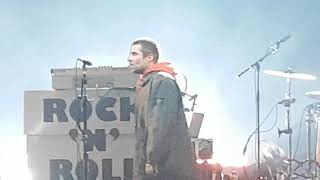 Liam Gallagher, Rock n Roll star  @ Motorpoint Arena Cardiff 13th December 2017