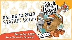 Verschiebung Berlin Con 2020 - Neuer Termin: 04.-06.12.2020