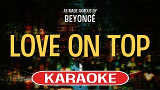 Love On Top (Karaoke Version) - Beyonce | TracksPlanet