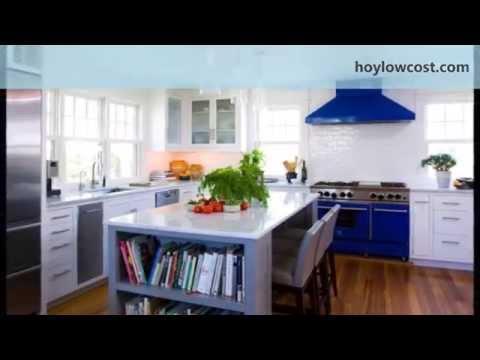 decoración de cocinas: cocinas con isla   HoyLowCost