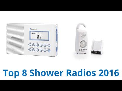 8 Best Shower Radios 2016