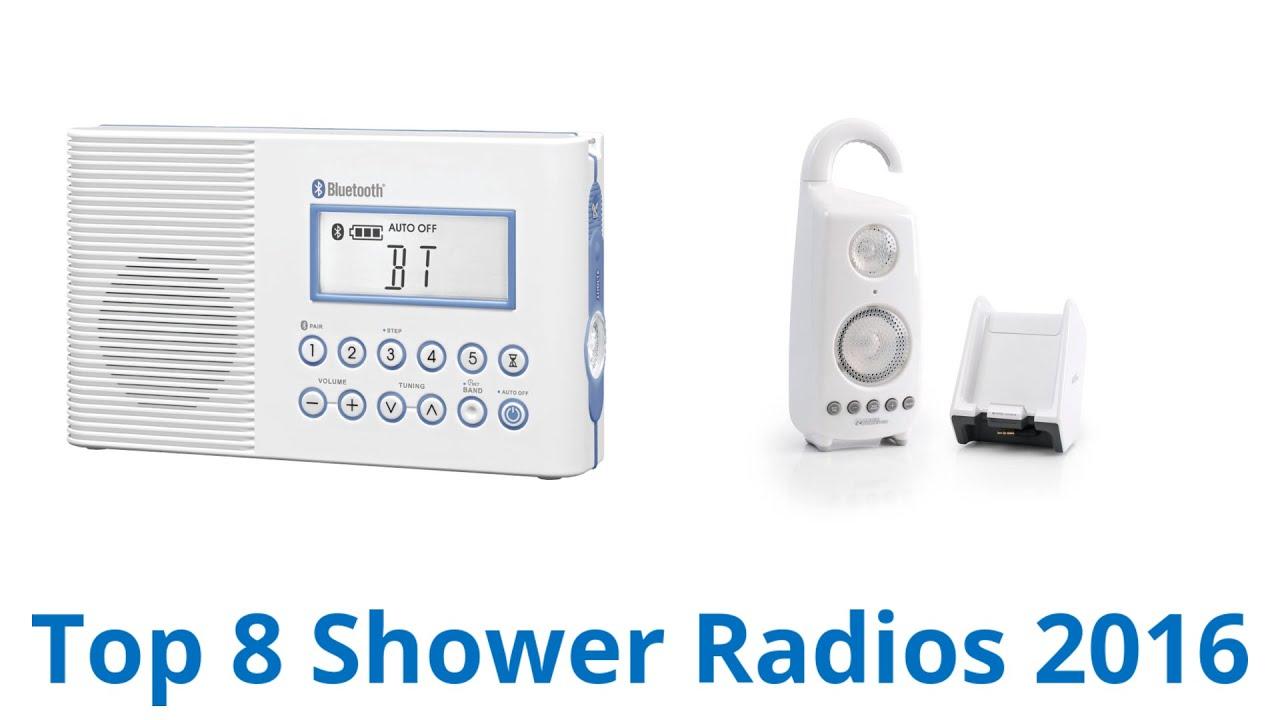 8 Best Shower Radios 2016 Youtube